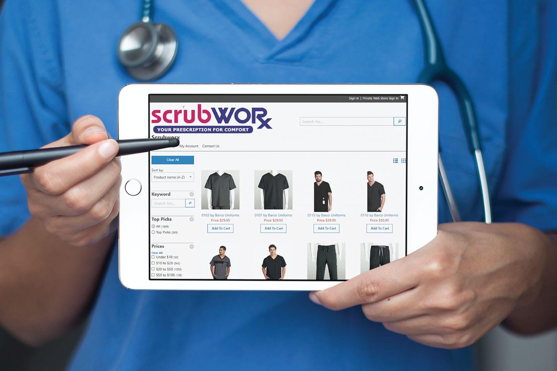Scrubworx website development project