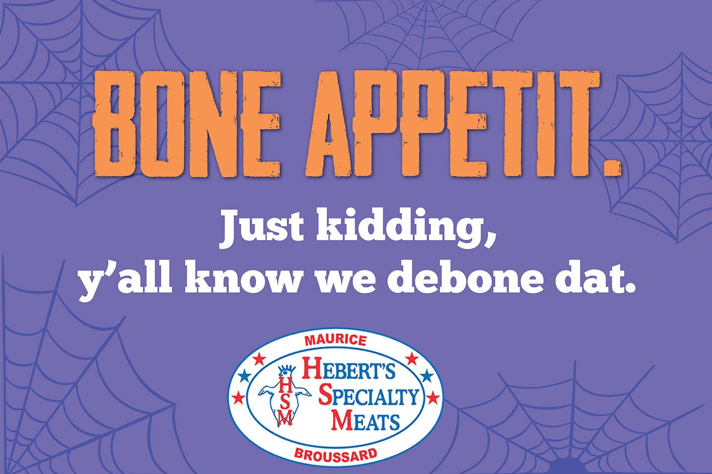 Heberts Specialty Meats Graphic Design by Kip and King Marketing